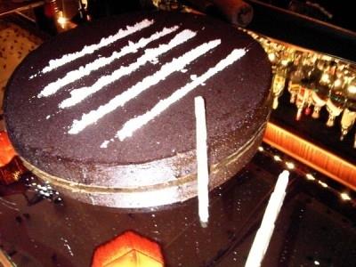 Sam Ronson's Coke Cake
