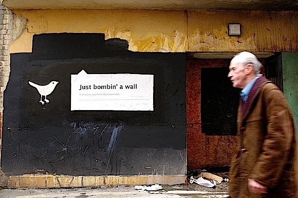 Twitter Street Art
