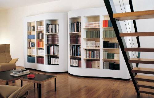 Open Book Bookcase