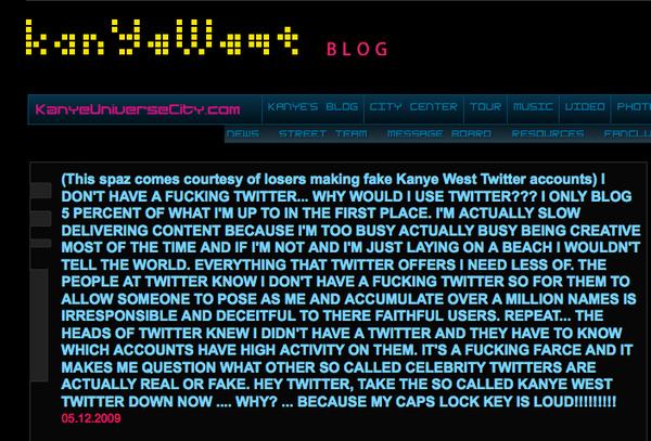 Kanye vs. Twitter