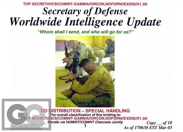 Biblical Defense Reports, By Donald Rumsfeld