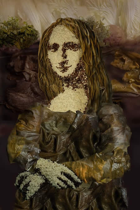 Edible Mona Lisa