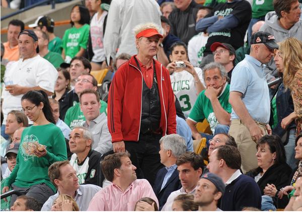 Bill Murray, Sports Fan