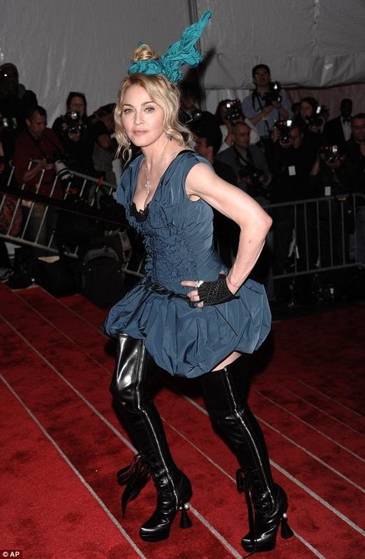 Madonna's Scrunchie Hat