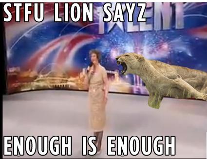 STFU Lion