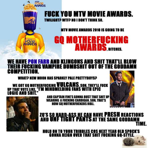 Alternate MTV Movie Awards Poster