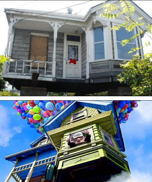 "The ""Up"" House"
