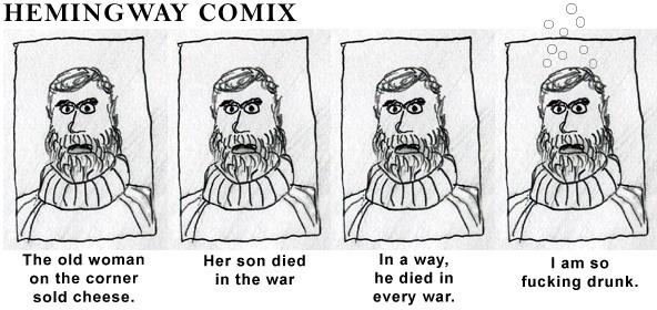 Hemingway Comic