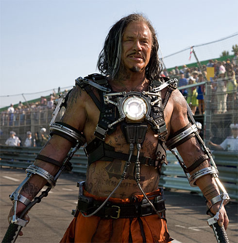 Mickey Rourke as Whiplash