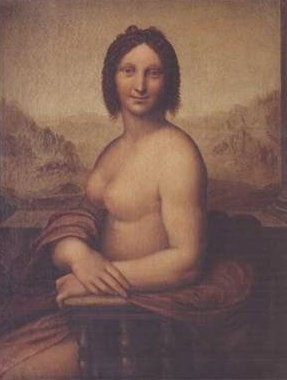 Naked Mona Lisa