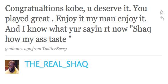Shaq's NBA Finals Recap