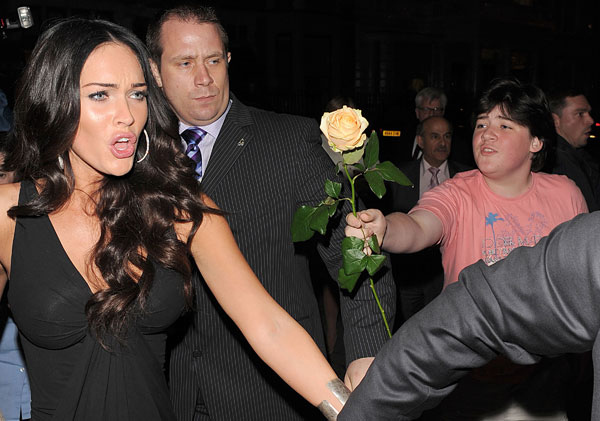 Megan Fox Crushes Boy's Spirit