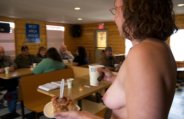 Grand View Topless Coffee Shop [NSFW]