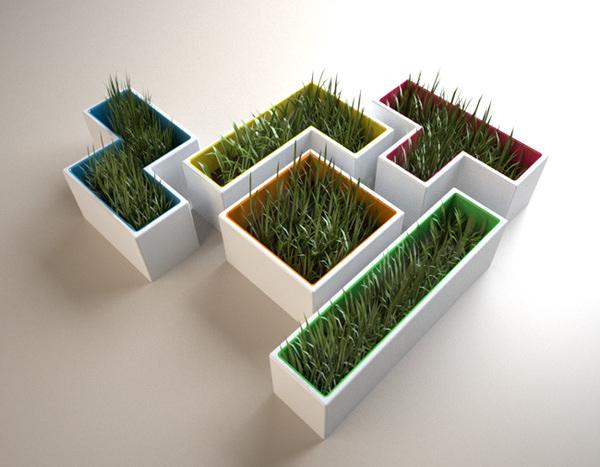 Tetris Pots