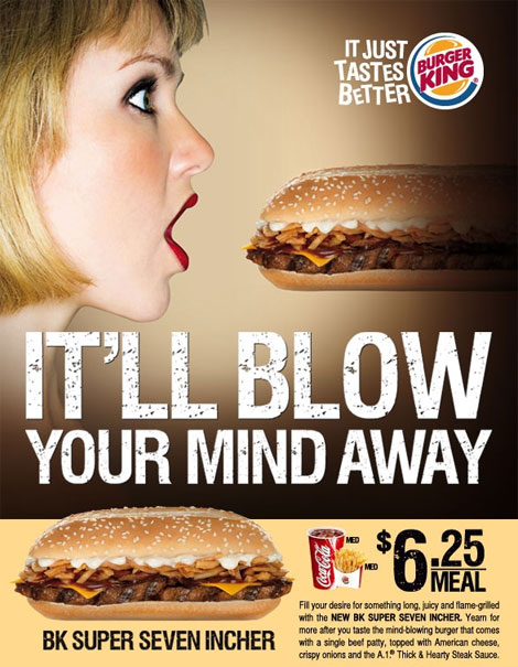 Burger King Blow Job Ad