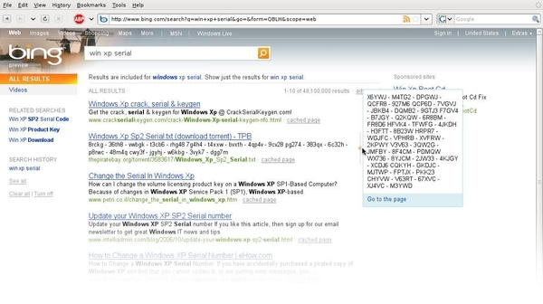 Bing, Really Now!!