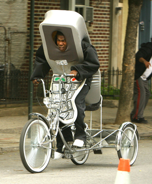Tracy Morgan Tricycling