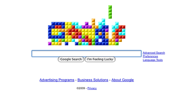 Google Loves Tetris
