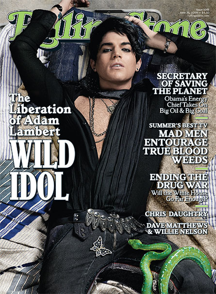 Adam Lambert (Officially) Gay