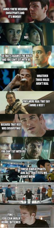 Star Trek vs. Mean Girls