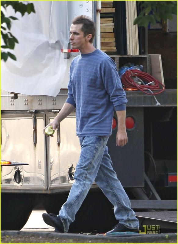 Christian Bale, Meth Addict (Again)