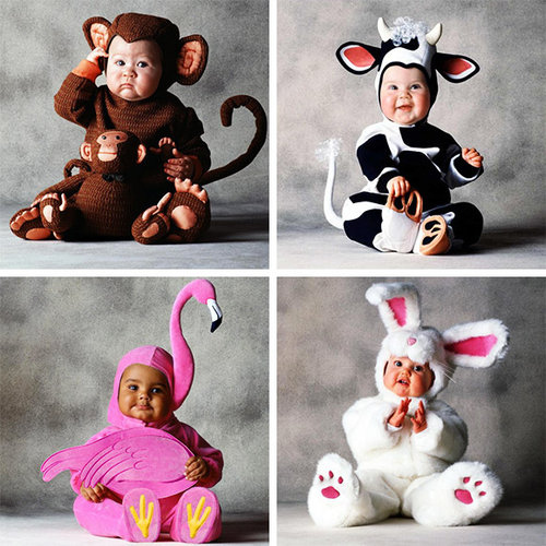 Ovary-Busting Animal Baby Costumes
