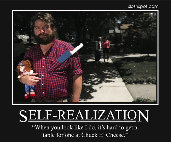 Zach Galifianakis Motivational Posters