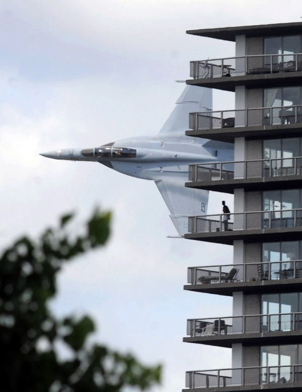 Fighter Jet Fly-By