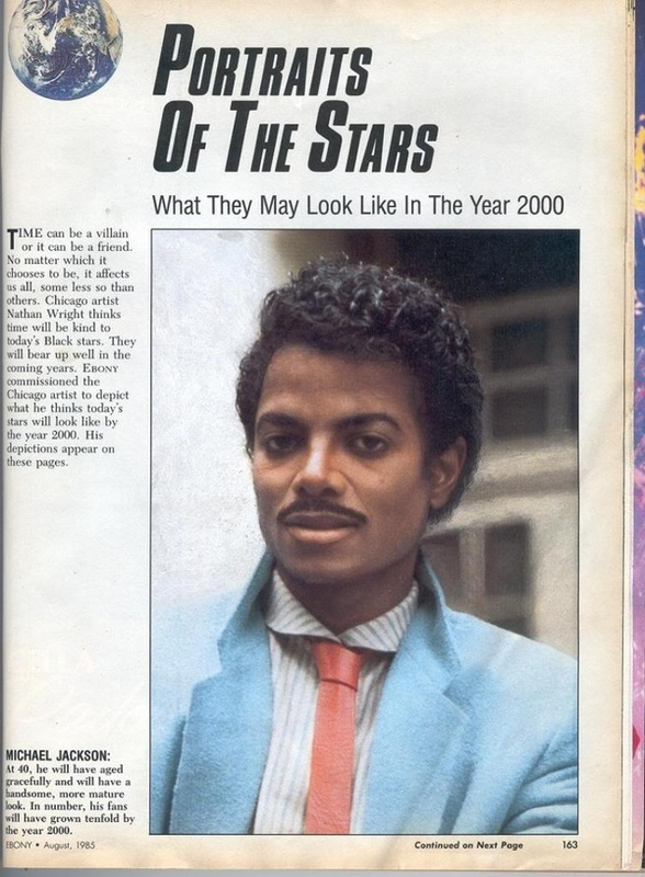 1985 Imagines 2000 Michael Jackson