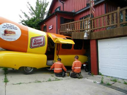 Weinermobile Crash