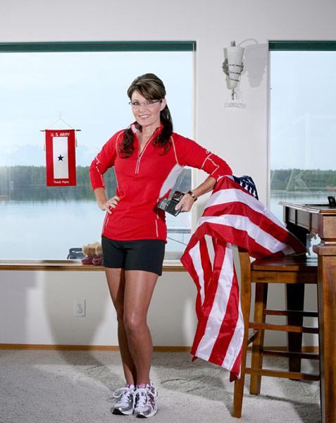 Sarah Palin's Softcore Runners' Porn