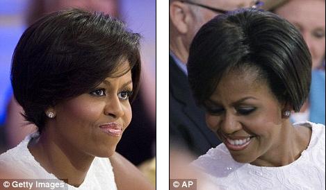 Michelle Obama's Haircut