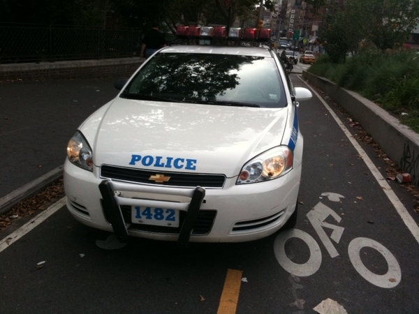 NYPD Loves Bike Lanes!