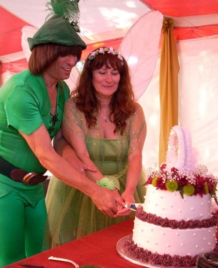 The Internet's Peter Pan Gets Married