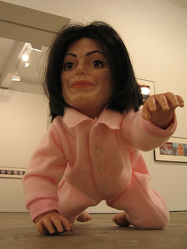 Creepy Michael Jackson Baby
