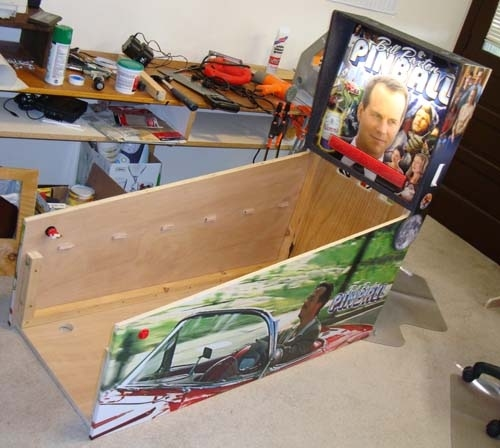 Bill Paxton Pinball Machine