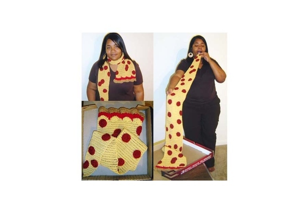 We Present: The Pizza Scarf