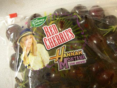 'Hannah Montana' Cherries