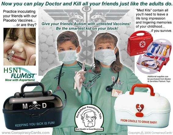 Conspiracist Kiddie Doctor Kit