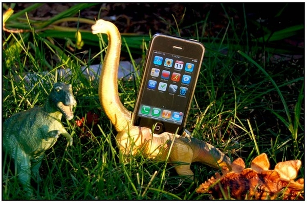 iPhone Dinosaur Dock