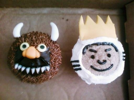 'Where The Wild Things Are' Cupcakes