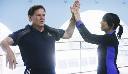 Tom DeLay's 'Dancing With The Stars' Rehearsals