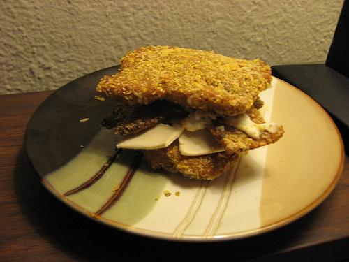 Vegan Double Down Sandwich