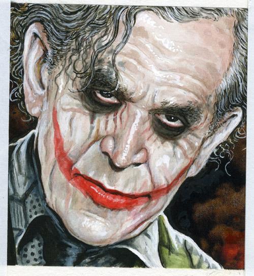 Bush Joker Posters