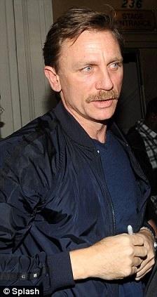Daniel Craig's Mustache