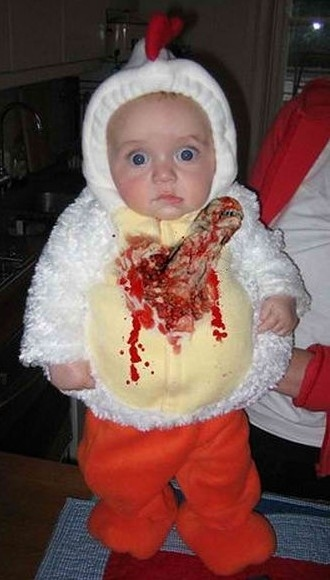 15 Most Unfortunate Baby Costumes