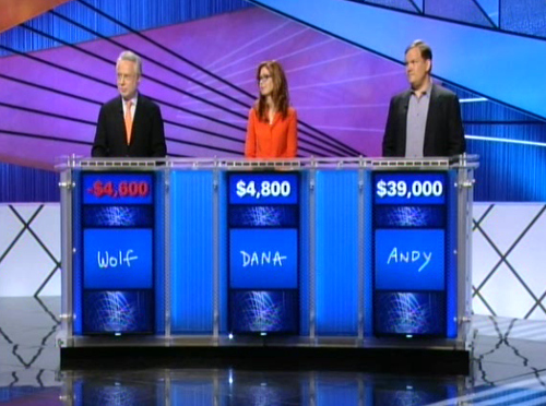 Wolf Blitzer: Celebrity Jeopardy Disaster