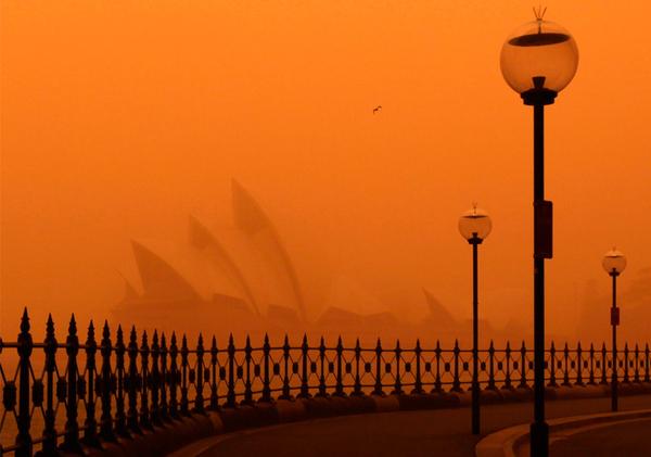 Apocalyptic Australian Dust Storms