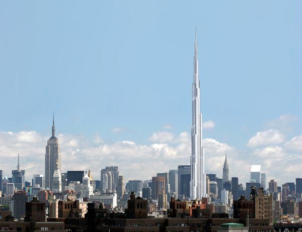 World's Tallest Building In Manhattan