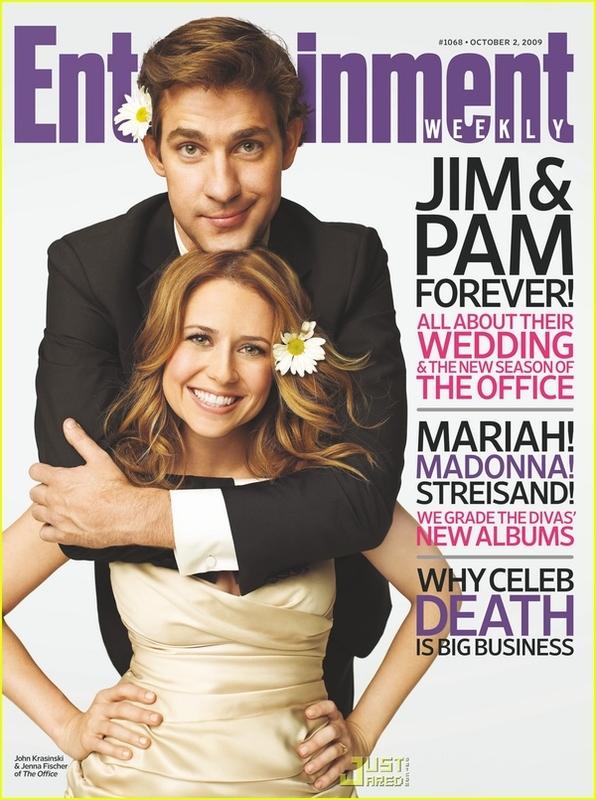 Pam & Jim's First Wedding Photo